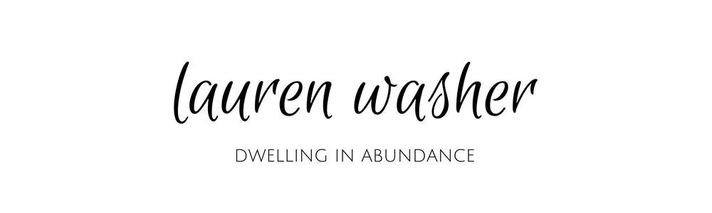 laurenwasher.com